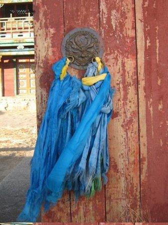 Ulaanbaatar, Mongolia: Me being artistic