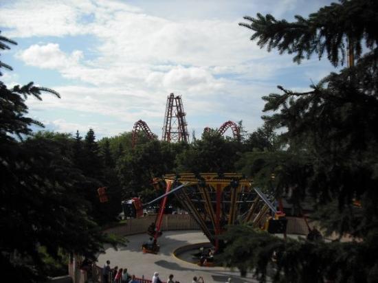 Foto Taman Hiburan Canada's Wonderland
