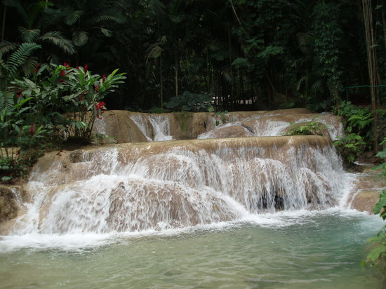 Saint Ann Parish, Jamaica: One of the many waterfalls