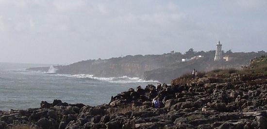 Boca do Inferno : Cabo Rasoが見える。