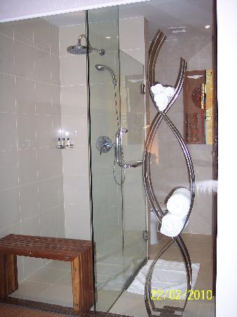 Park Plaza Sukhumvit Bangkok: Well designed shower