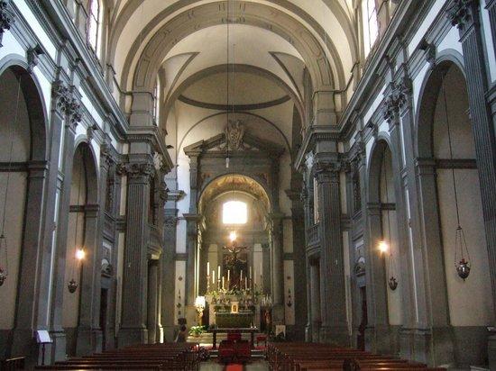 Church of Santa Felicita: サンタ・フェリチタ教会内部