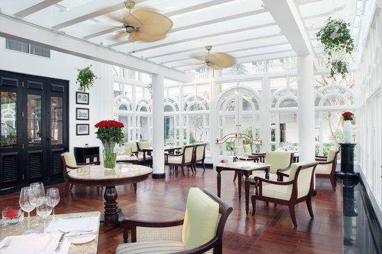 โรงแรมโซฟิเทล เลเจนด์ เมโทรโพล ฮานอย: L'Orangerie