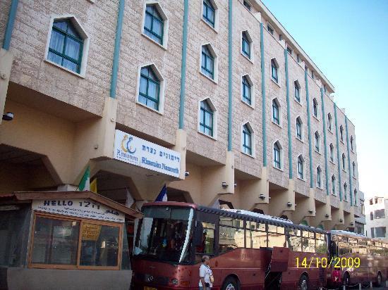 Rimonim Hotel Nazareth: hotel entrance