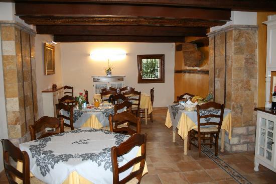 Hotel Rural Masia La Mota: comedor