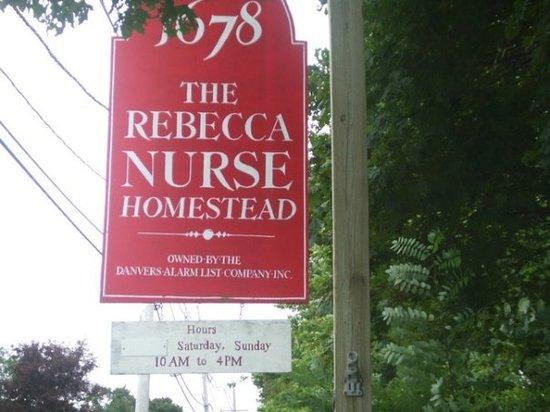Rebecca Nurse Homestead
