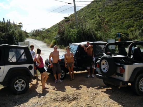 St. John's, Antigua: Jeeps be the only way to go on the island