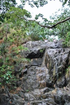 St. John's, Antigua: Waterfall