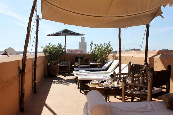 Dar Hanane: Terrace