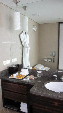 Lotte Hotel Seoul: bathroom (amenities and sink)