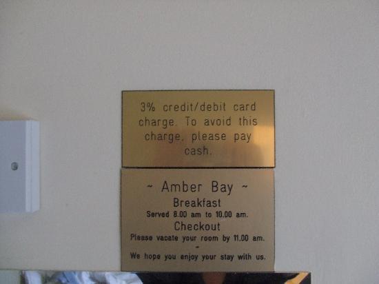 Amber Bay: bon à savoir