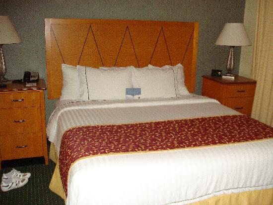 Residence Inn Wayne: letto comodissimo