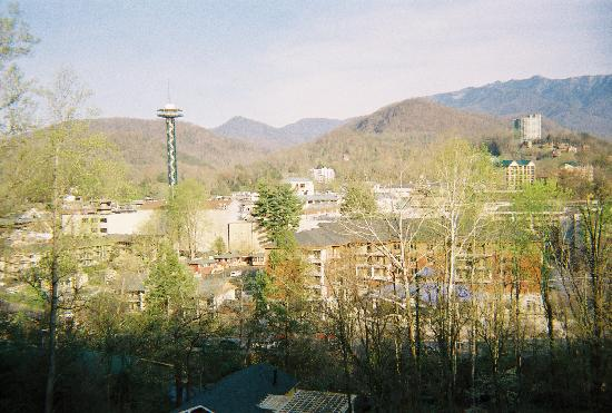 Pretty mountain city of Gatlinburg,Tn
