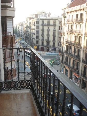 Catalonia Diagonal Centro: View from the balcony