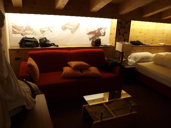Active Hotel Olympic: Olympic sled room 1