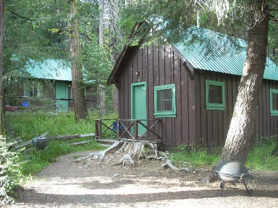 Mill Creek Resort: Typical cabin