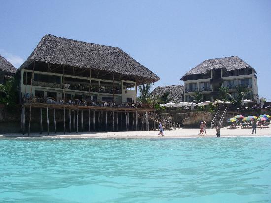 The Z Hotel Zanzibar: water is gorgeous!