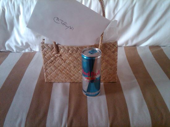 Pier Sixty-Six Hotel & Marina: Gift Bag w/ my twitter name @TiffanyWI