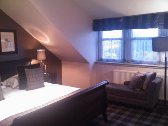 Malmaison Aberdeen: Top floor room