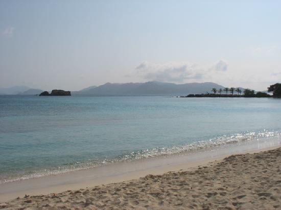 Crystal Cove Beach Resort on Sapphire Bay: Looking toward St Thomas