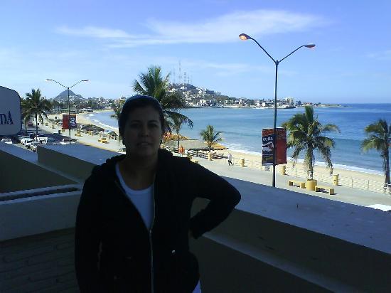 Hotel Hacienda Mazatlan: con vista al mar