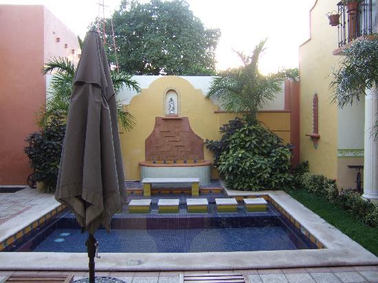 Casa de las Columnas - pool