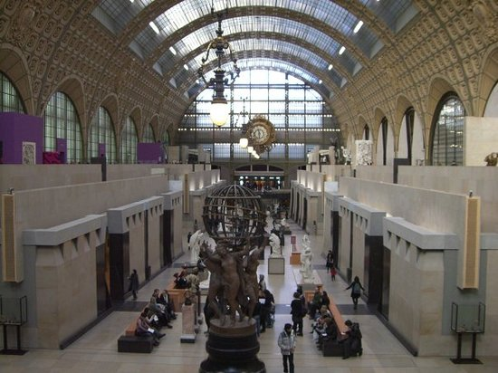 Musée d'Orsay: It was a station.
