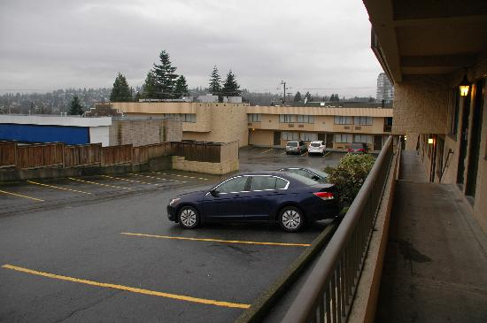 Ramada Coquitlam: Empty Lot