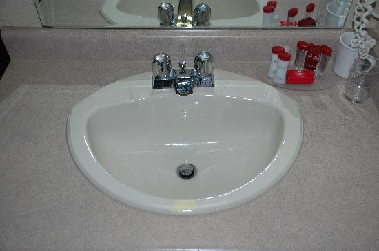 Ramada Coquitlam: Chipped Sink