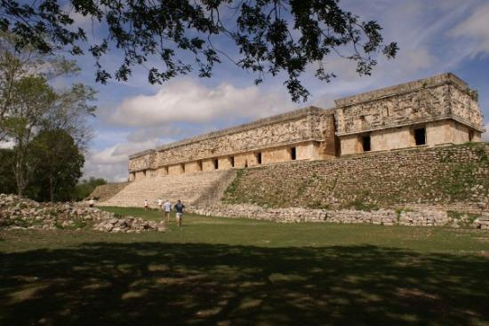 Uxmal, Yucatan, Mexico The Palace of the Governor