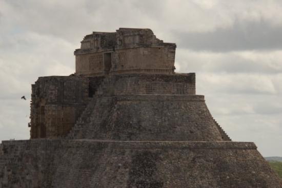 Uxmal, Yucatan, Mexico Pyramid of the Magician
