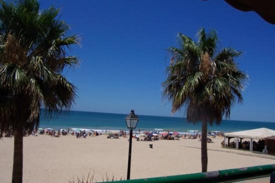 Beautiful beaches in Rota, Spain