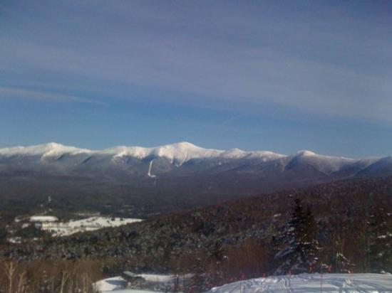 View of Mount Washington from Bretton woods. What a day.