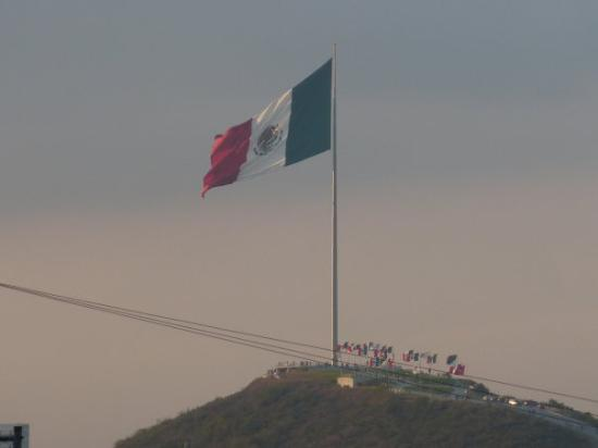 Monterrey, Mexico: Flag of Mexico In Monterrrey It is Quite Large