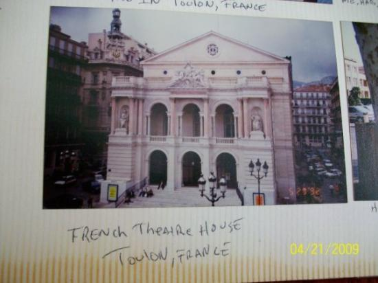 a french theatre picture of toulon var tripadvisor. Black Bedroom Furniture Sets. Home Design Ideas
