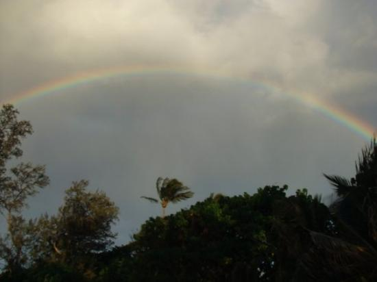 paia beach rainbow