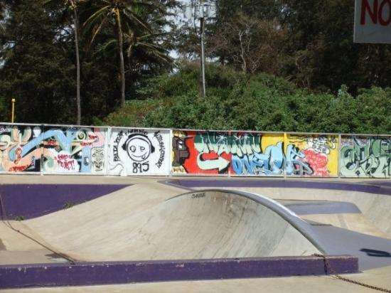 Paia, ฮาวาย: Skate park graffiti!