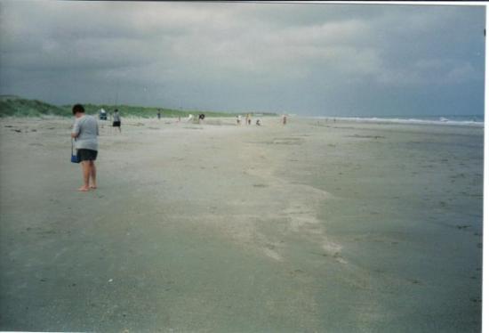 Ocean Isle Beach Nc Looking East Up