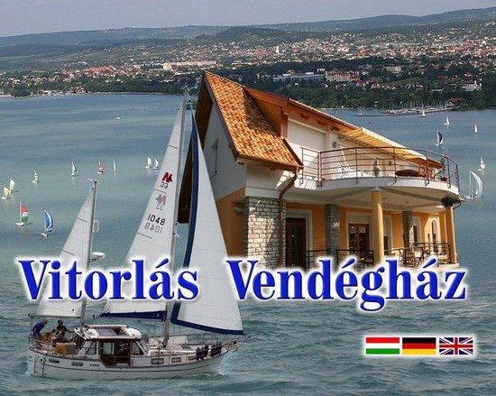 Balatonfured, Ungarn: Sailing House/Segal-Haus/Vitorlás Vendégház