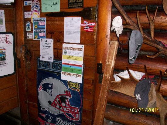 The Corral Bar & Steakhouse : door lock