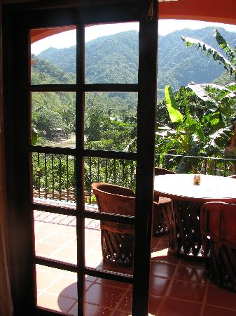 Casa La Ventana: The view from our balcony was beautiful