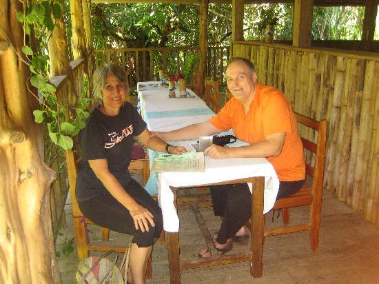 Rainforest Shangri-La Resort: Lunch with owner Dr. Janet Taylor, D.C.