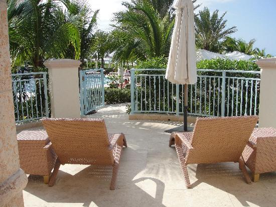 Seven Stars Resort & Spa: Terrace (Rm. 1105)