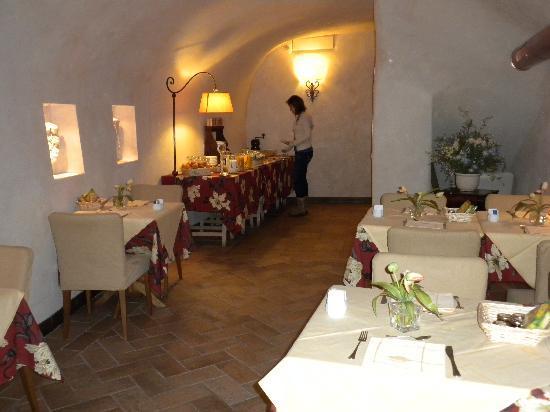 Hotel Residenza San Calisto: breakfast area