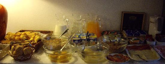 Hotel Riviera: 朝食。