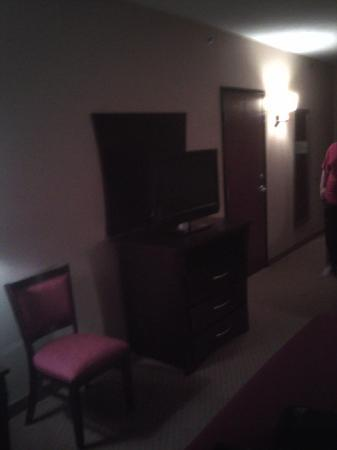 Holiday Inn Express Hotel & Suites Franklin : The 32inch flat panel LCD HDTV!