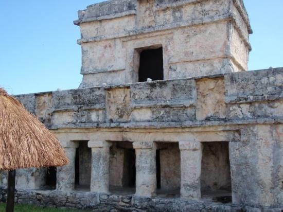 Cabanas Copal : the chapel at Tulum