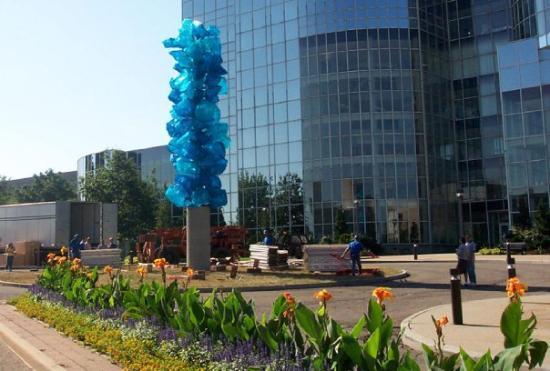 Polyvitro Tower Akron University Akron, Ohio