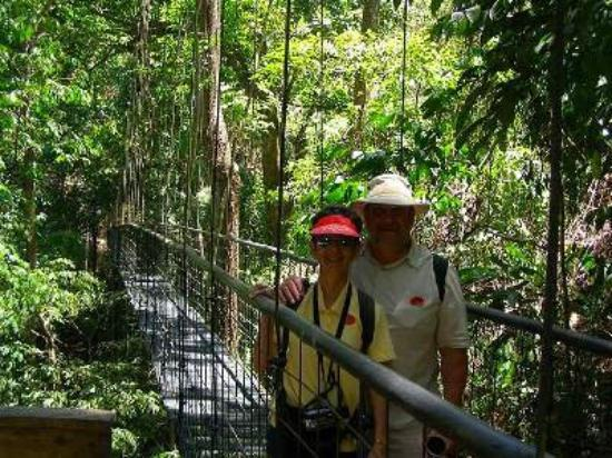 Tarcoles, คอสตาริกา: Villa Lapas Skywalk, Costa Rica