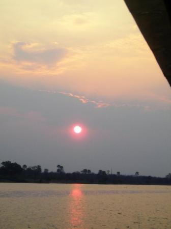 Harare, Zimbabwe: Sunset on the Zambezi River
